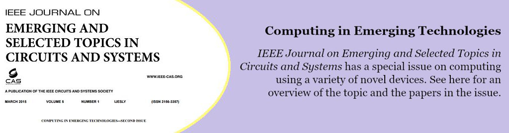 Computing in Emerging Technologies: IEEE Journal on Emerging and Selected Topics in Circuits and Systems has a special issue on computing using a variety of novel devices.
