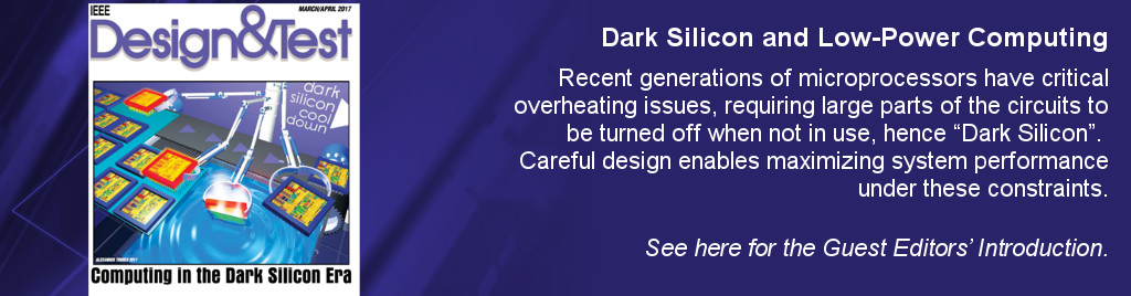 Dark Silicon and Low-Power Computing. Recent generations of microprocessors have critical overheating issues, requiring large parts of the circuits to be turned off when not in use, hence Dark Silicon.  Careful design enables maximizing system performance under these constraints.